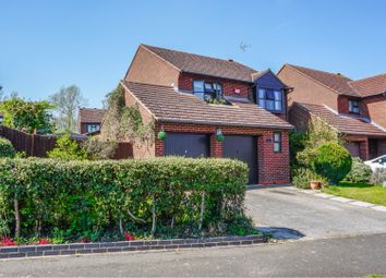 Thumbnail 4 bed detached house for sale in Leafield Rise, Milton Keynes