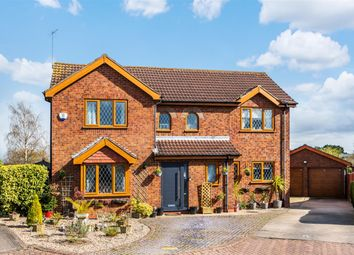 Thumbnail 5 bed detached house for sale in Maple Close, Louth
