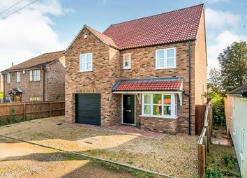 Thumbnail 4 bed detached house for sale in Murrow Bank, Murrow, Wisbech