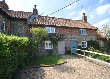 Thumbnail 2 bed cottage for sale in Thornage Road, Little Thornage, Holt, Norfolk