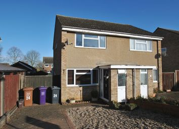 Thumbnail 2 bedroom semi-detached house to rent in Keats Way, Hitchin