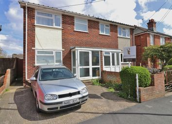 Thumbnail 3 bed semi-detached house for sale in Hinkler Road, Thornhill, Southampton, Hampshire