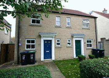 Thumbnail 2 bed semi-detached house to rent in Columbine Road, Ely