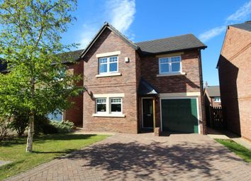 Thumbnail 4 bed detached house for sale in Siskin Court, Carlisle