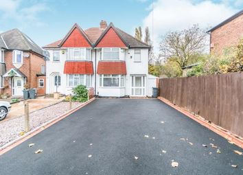 Thumbnail 3 bed semi-detached house for sale in Arden Road, Acocks Green, Birmingham, West Midlands