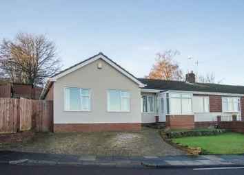 Thumbnail 4 bed semi-detached bungalow for sale in Hillside, Dunston, Gateshead
