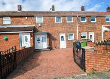 Thumbnail 2 bed terraced house for sale in Tanfield Gardens, South Shields