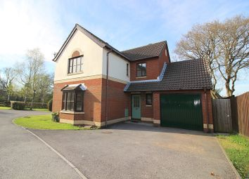 Thumbnail 4 bed detached house for sale in Hollyhock Drive, Brackla, Bridgend.
