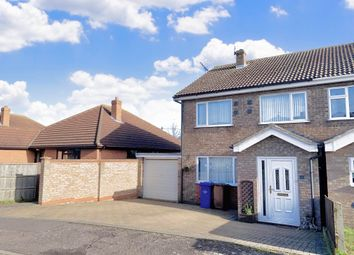 Thumbnail 4 bed semi-detached house to rent in Tithe Avenue, Beck Row, Bury St. Edmunds