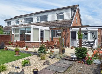 Thumbnail 2 bed semi-detached bungalow for sale in Tad Cu, Almond Avenue, Llandrindod Wells