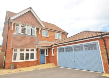 Thumbnail 4 bed detached house for sale in Farm Close, Roundswell, Barnstaple