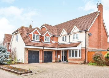 Thumbnail 5 bed detached house for sale in Badgers Brook Road, Drayton, Norwich