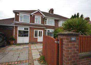 Thumbnail 5 bed semi-detached house for sale in Woodchurch Road, Prenton