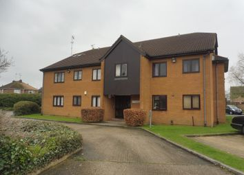 Thumbnail 1 bed flat for sale in Stagshaw Drive, Peterborough
