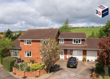 Thumbnail 4 bedroom detached house for sale in Chapel Downs Drive, Crediton