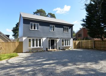 Thumbnail 4 bed detached house for sale in Fernhill Lane, New Milton