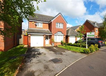 Thumbnail 4 bedroom detached house for sale in Galingale View, Newcastle, Newcastle-Under-Lyme