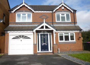 Thumbnail 4 bed detached house for sale in Lhen Close, Muxton, Telford