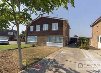 Thumbnail 3 bed semi-detached house for sale in Beverley Close, Lowestoft