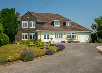 Thumbnail 4 bed detached house for sale in Dunvant Road, Three Crosses, Swansea