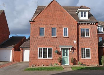 Thumbnail 6 bed detached house for sale in Navigation Drive, Glen Parva