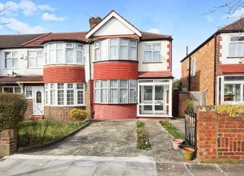 Thumbnail 3 bed end terrace house for sale in Hodder Drive, Perivale, Greenford