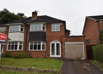 Thumbnail 3 bed semi-detached house for sale in Middleton Hall Road, Kings Norton, Birmingham