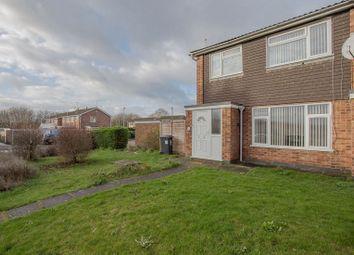 Thumbnail 3 bedroom end terrace house for sale in Carron Drive, Peterborough, Cambridgeshire.
