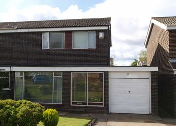 Thumbnail 3 bed semi-detached house for sale in Crofthead Drive, Cramlington