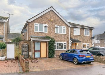 Thumbnail 4 bed semi-detached house for sale in Ashbourne Road, Broxbourne, Hertfordshire