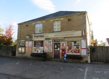 Thumbnail Retail premises for sale in West Street, Helpston
