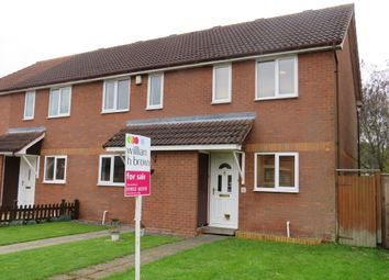 Thumbnail 2 bed end terrace house for sale in Banister Way, Wymondham