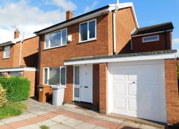 Thumbnail 4 bed detached house to rent in Woolston Drive, Hough, Crewe