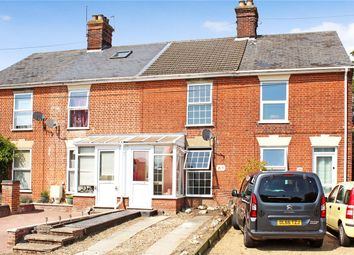 Thumbnail 3 bed terraced house for sale in Wissett Road, Halesworth, Suffolk