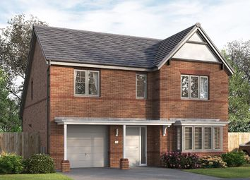 "Thumbnail 4 bed detached house for sale in ""The Overbury"" at George Holmes Business Park, George Holmes Way, Swadlincote"