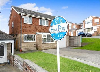 Thumbnail 3 bedroom semi-detached house for sale in Martingale Close, Walsall