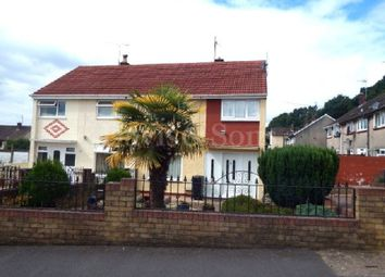 Thumbnail 3 bed semi-detached house for sale in Welland Crescent, Off Monnow Way, Newport.