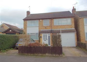 Thumbnail 5 bedroom detached house for sale in Brixham Drive, Wigston, Leicester, Leicestershire