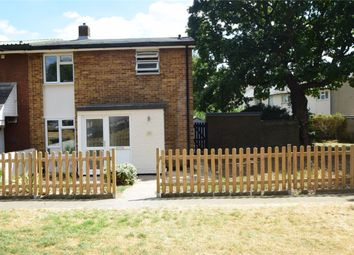 Thumbnail 3 bed end terrace house for sale in Meadow Way, Stevenage, Hertfordshire