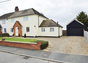Thumbnail 3 bedroom semi-detached house for sale in School Avenue, Elmswell, Bury St. Edmunds