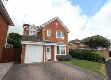 Thumbnail 3 bed detached house for sale in Horseshoe Crescent, Peatmoor, Swindon
