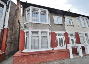 Thumbnail 3 bed semi-detached house for sale in Northop Road, Wallasey