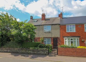 Thumbnail 2 bedroom terraced house for sale in Chester Street, Brampton, Chesterfield