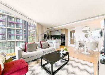Thumbnail 2 bed flat to rent in Four Riverlight Quay, Nine Elms, London