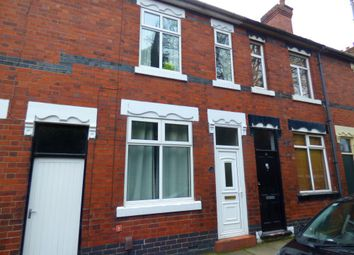 Thumbnail 2 bed terraced house to rent in Vicarage Road, Hartshill, Staffs