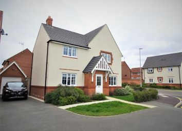 Thumbnail 4 bed detached house for sale in Birch Lane, Glenfield, Leicester