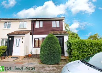 Thumbnail 3 bed end terrace house for sale in Conifer Close, Cheshunt, Waltham Cross