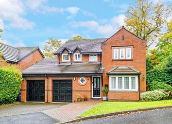 Thumbnail 4 bed detached house for sale in Meadow Oak Drive, Woolton, Liverpool