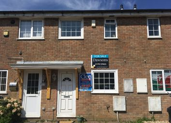 Thumbnail 2 bed terraced house for sale in Fox Grove, Fforestfach, Swansea, City & County Of Swansea.