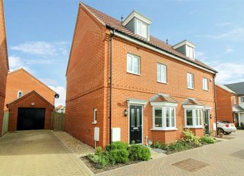 Thumbnail 4 bed property for sale in Lavender Drive, Cringleford, Norwich